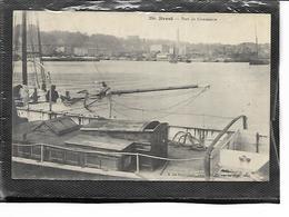 29-BREST-Une Vue Animée Du Port De Commerçe - Brest