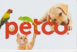 GIFT CARD - USA - PETCO-036 - CAT - DOG - PARROT - Gift Cards