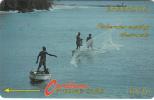 BARBADOS ISL.(GPT) - Fishermen(no Logo), CN : 9CBDB, Tirage 20000, Used - Barbados