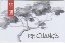 GIFT CARD - USA - P.F. CHANG'S-009 - Gift Cards