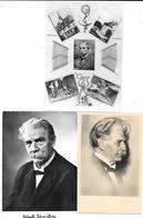 3 Cartes ALBERT SCHWEITZER - PRIX NOBEL De La PAIX  1952 - Premi Nobel
