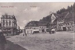CPA : Homburg (Allemagne Sarre)    Marktplatz     1919 - Other