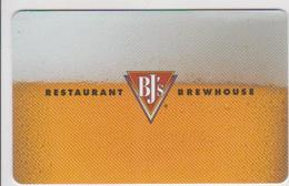 GIFT CARD - USA - RESTAURANT BREWHOUSE 02 - Gift Cards