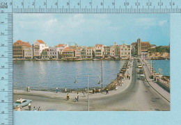 Curacao N. A. -  Pontoon Bridge, Animated-  Postcard,  Carte Postale - Curaçao