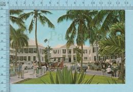 Bahamas - Animated Rawson Square -  Postcard,  Carte Postale - Bahamas