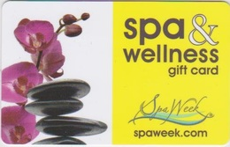 GIFT CARD - USA - SPA WEEK-005 - ORCHID - Gift Cards
