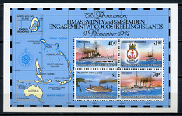 1989 - COCOS ISLANDS - Mi. Nr. BL 8 - NH - (CW4755.6) - Isole Cocos (Keeling)