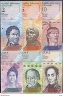 Venezuela SET 2-100 Bolivares 2013-2015  AUNC - Venezuela