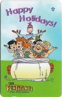 Singapore - Happy Holidays, Flintstones, 139SIGC, 1998, Used - Singapour