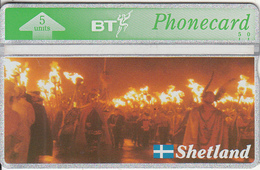 SHETLAND ISL. - Shetland Islands Heritage/Up Helly AA(BTG216), First Issue, CN : 310K, Tirage 2000, Mint - Other - Europe
