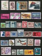 WORLDWIDE---Collection Of USED DL-598 - Stamps