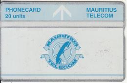 MAURITIUS(L&G) - Telecom Logo 20 Units(silver Band & Blue Line), CN : 410A, Tirage 25000, Used - Mauritius