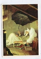 PAINTING - AK 326031 Carl Spitzweg - Der Arme Poet (Ausschnitt) - Antike