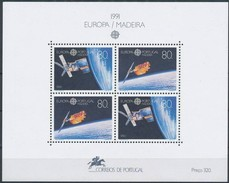 Cept 1991 Portugal Madère Madeira Yvertn° Bloc 12 *** MNH Cote 12,00 Euro - 1991