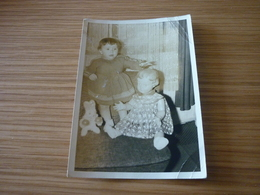Child Doll Old Greek Original Photo Photograph 1950/1960 From Greece - Photographs