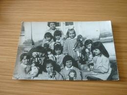 Child Doll Girls School Classroom Old Greek Original Photo Photograph 1950/1960 From Greece - Photographs