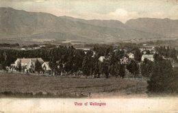 VIEW OF WELLINGTON  -   NEW ZEALAND POST CARD - Nueva Zelanda