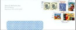 Etats Unis Diabete Liberty Duck  On Air Mail Letter - United States