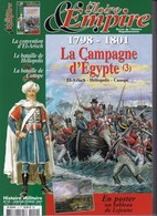 Revue GLOIRE Et EMPIRE N° 10 1798 - 1801 La Campagne D'Egypte (3) 124 Pages - Histoire