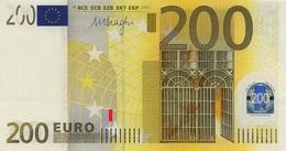 EURO BELGIUM 200 Z T003 A1 UNC DRAGHI - EURO