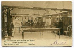 CPA - Carte Postale - Belgique - Bruxelles - St-Josse-ten-Noode - Institution Des Dames De Marie - 1906 (CP3701) - St-Josse-ten-Noode - St-Joost-ten-Node