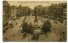 CPA - Carte Postale - Belgique - Bruxelles - Place De Brouckère - 1913 (CP3704) - Marktpleinen, Pleinen