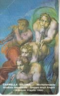 VATICAN - Cappella Sistina/Michelangelo, Giudizio Universale(04), Tirage 10200, Exp.date 08/04/96, Mint - Vaticano