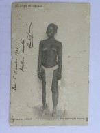 CPA (Afrique) Sénégal Soudan - Nu Ethnique - Colonies Françaises - Une Captive De Samory - Sudan