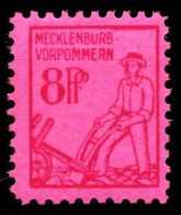 SBZ MECKLBRG VORP. Nr 11xa Postfrisch X651D86 - Sowjetische Zone (SBZ)