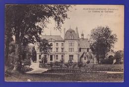 "PLOUEGAT GUERAND Chateau 1919 (1 MICRO ""GRATTAGES "" Legers Bords INF A G Sinon TTB Etat ) V427) - Other Municipalities"