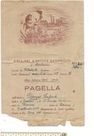 7807 Pagella Scolastica 1943-44 Difetti - Diplomi E Pagelle