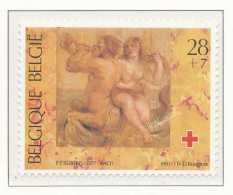 NB- [153297] **/Mnh-N° 2490, Croix Rouge, Red Cross, Tableaux, Painting, Néréïde Et Triton De PP Rubens, SNC - Belgique