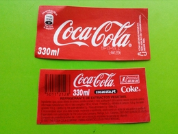 Label,rótulo Coca-Cola From Portugal - Coca-Cola