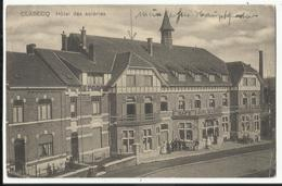 CLABECQ - Hôtel Des Acieries - Cachet De Censure Militaire 1919 - Tubize