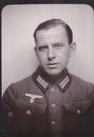Foto Deutscher Soldat - Porträt - 2. WK - 5*3,5cm  (35241) - Krieg, Militär
