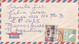 AIRMAIL CIRCULEE QUITO ECUADOR A BUENOS AIRES. CIRCA 1990.-BLEUP - Ecuador