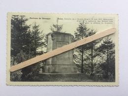 GENAPPE «ENVIRONS DE GENAPPE BAISY-THY «Monument Bataille De QUATRE-BRAS Monument (Édit Lutte-Stanga,Genappe). - Genappe