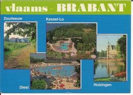 Groeten Uit Vlaams-Brabant - 4 Zichten - Belgique