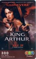 Mobilecard Thailand - 12Call - Movie,Film,cinema  - King Arthur  - Guinevere - Bogenschütze - Kino