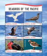 Marshall Isl. [2018] Uccelli Marini/Seabirds - Sheetlet (MNH) - Marine Web-footed Birds