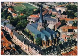 Tielt - Luchtopname - St. Pieterskerk - Tielt-Winge