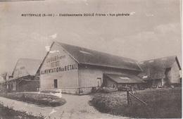 CPA Motteville - Etablissements Duglé Frères - Vue Générale - France