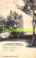 CPA LES ONVIRONS DE BRUXELLES LA TOUR DE MORIESART A CEROUX MOUSTY  NELS SERIE 11 NO 206 ( PLI - PLOOI ) - Ottignies-Louvain-la-Neuve