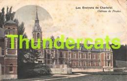 CPA LES ENVIRONS DE CHARLEROI CHATEAU DE PRESLES ( PLIS !! ) NELS SERIE 5 NO 41 - Charleroi