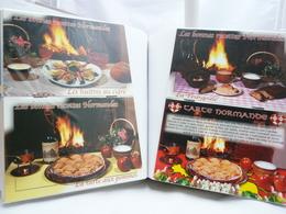 200 CPSM-CPM-DANS UN ALBUM-RECETTES DE CUISINE VARIÉES-BON ETAT-REF 2- - Cooking Recipes