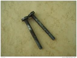 2 Vis De Platine De Fusil Reglementaire Modèle 1777 - An 9  - 1822 .( Bon état). - Decorative Weapons