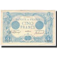 France, 5 Francs, 5 F 1912-1917 ''Bleu'', 1914, SUP, Fayette:2.22, KM:70 - 1871-1952 Anciens Francs Circulés Au XXème