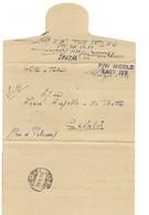 7894 Prigionieri Guerra POW WW2 EGITTO 17-1045 Cefalù 22-1-1946 - 1900-44 Vittorio Emanuele III