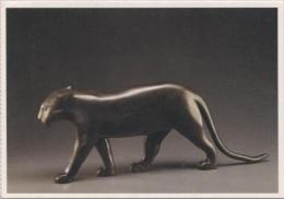 CPM - François POMPON - PANTHERE NOIRE - BRONZE - Edition Musee Natx - Sculture