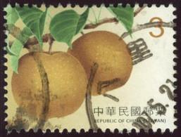Taiwan 2017 Yv. N°3874 - Nashi - Oblitéré - 1945-... Republik China